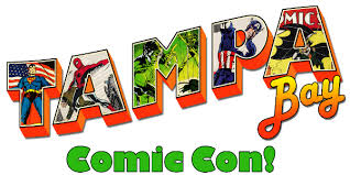 Tampa Bay Comic Convention Graphic
