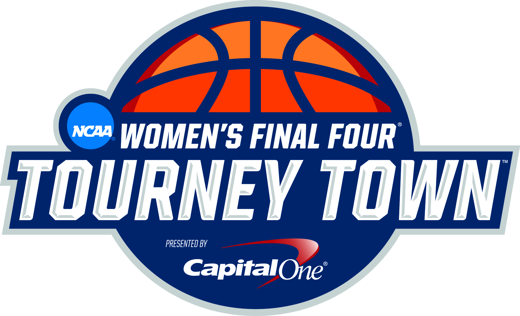 NCAA- Women's Final Four Tourney Town logo