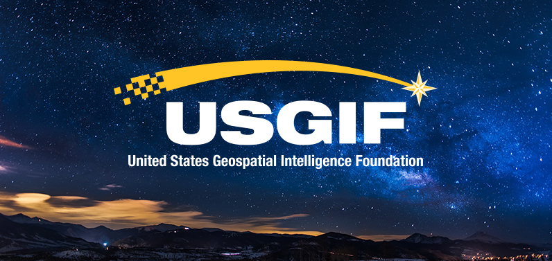 United States Geospatial Intelligence Foundation logo