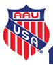 AAU National Gymnastic Championship logo