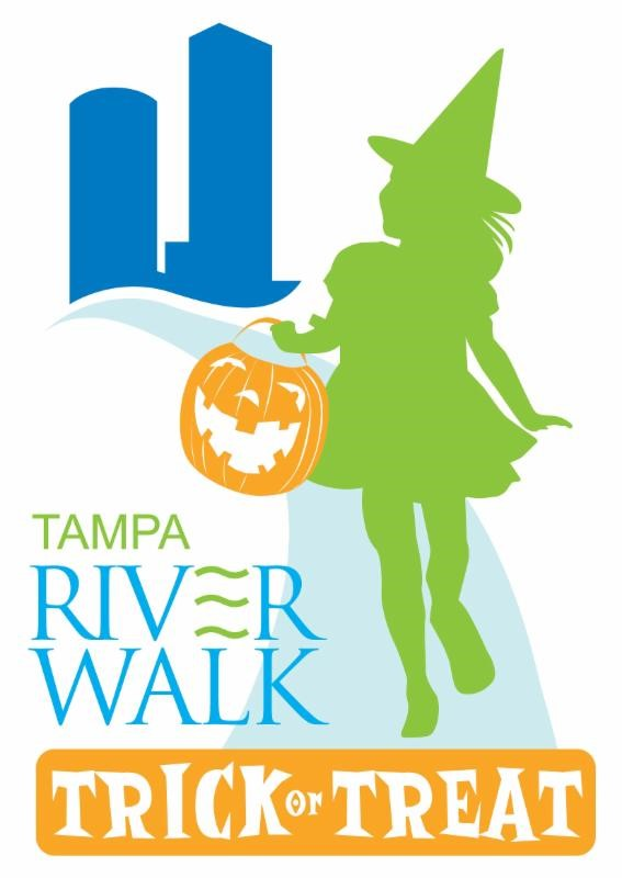 3rd Annual Riverwalk Trick or Treat logo