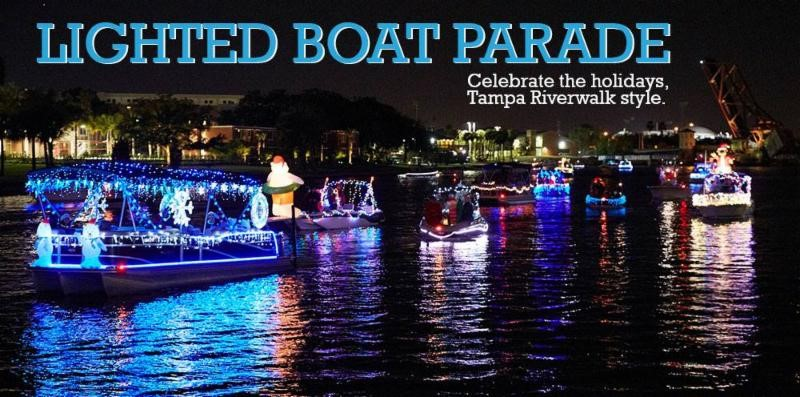 Downtown Tampa Holiday Boat Parade of Lights logo