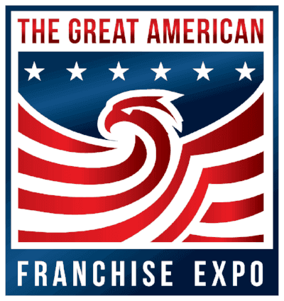 The Great American Franchise Expo 2021 logo
